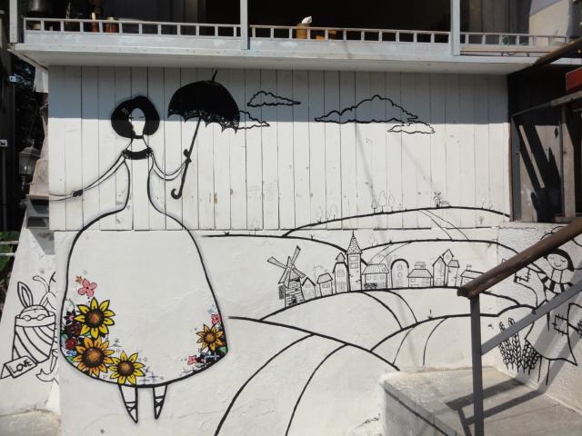 2014年9月6日 梨花洞壁画マウル 2