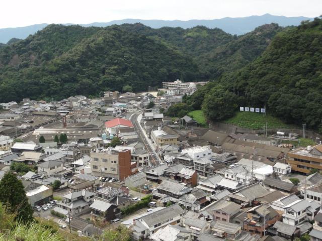 2014年9月14日 陶祖李参平碑からの眺め