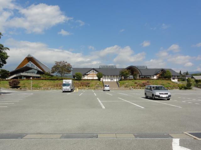 2014年10月3日 浅川兄弟資料館前 駐車場