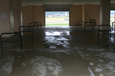 駐輪場清掃2
