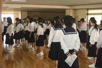 全校合唱練習3