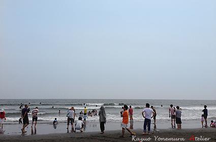 写真日曜日の海岸