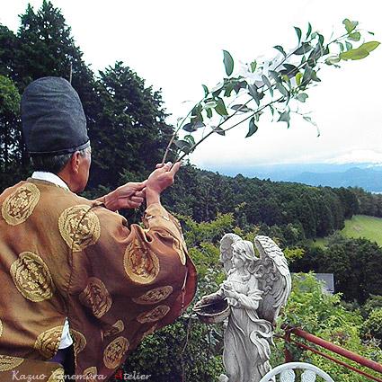 地鎮祭、伊豆の国市,箱根富士カントリークラブ近くで