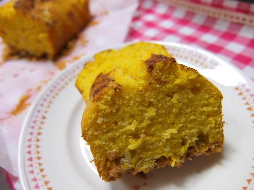 パンプキンパウンドケーキ