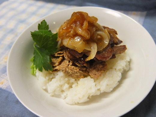 イベリコ豚のしょうが焼きシリアル丼