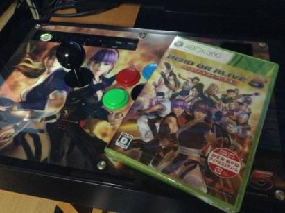 デッドオアアライブ5スティック&ゲームパッケージ