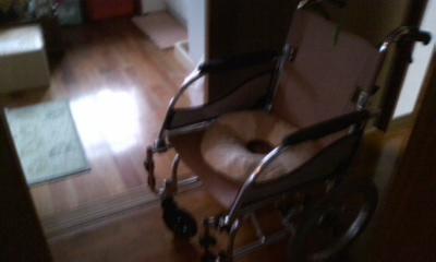 車椅子10月