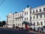 ハバロフスク・極東美術館(前景)