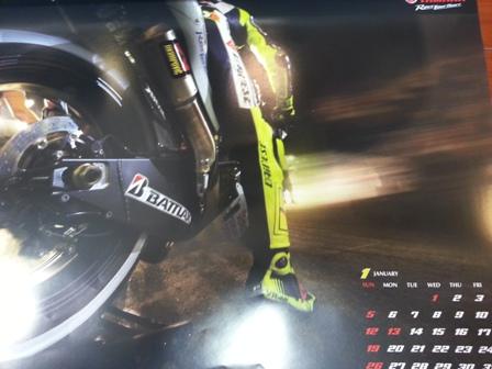 2014YAMAHAレーシングカレンダー