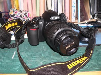 新たにネットで手に入れたデジカメ「ニコンD3100」