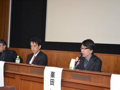 これまでのカジノ問題の経緯や今後における地方型IRの可能性を語る博報堂の栗田朗氏