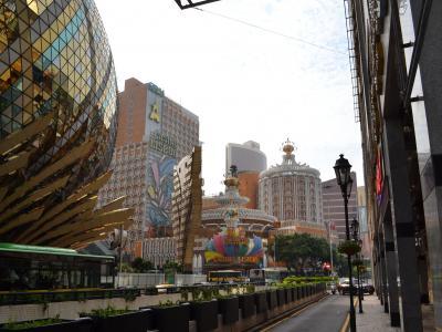 ホー氏が作ったカジノやホテルが並ぶ殷皇子大馬路の一帯