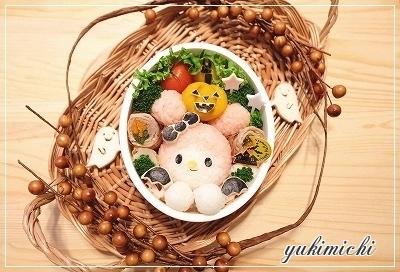 ハロウィン☆こうもりなマイメロのお弁当♥