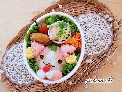 妖怪ウォッチ☆イチゴニャンのお弁当♥