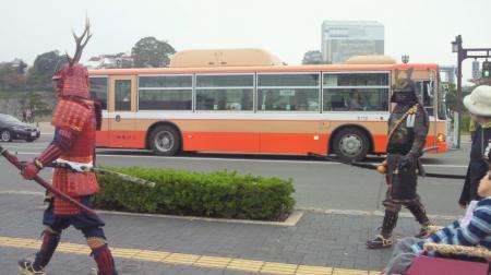 2013/11/3 姫路城周辺 武将