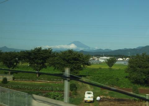 のぞみからの富士山1