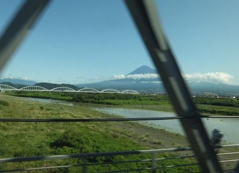 のぞみからの富士山2