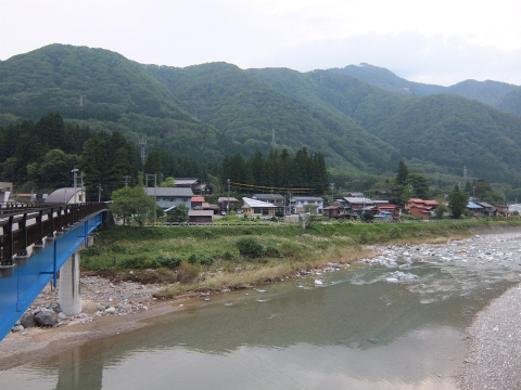 庄川沿い7