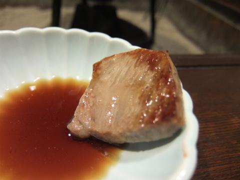 飛騨牛の陶板焼き2