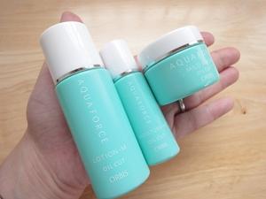オルビス化粧品 オマケの洗顔料・化粧水・保湿液