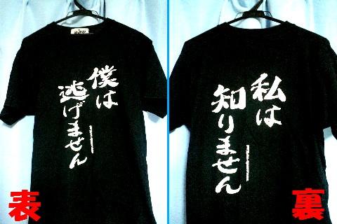 T-Shirt_Bokuhanigemasen-Watashihashirimasen.jpg