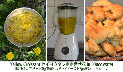 Croissant met straal Klein