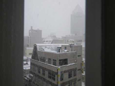 ホテルクラウンヒルズ新潟 部屋からの眺め①