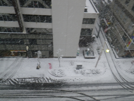 ホテルクラウンヒルズ新潟 部屋からの眺め②