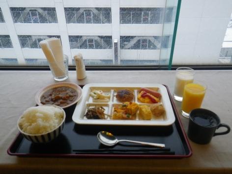 ホテルクラウンヒルズ新潟 朝食