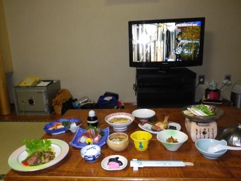湯野浜温泉 海辺の宿 福住 夕食