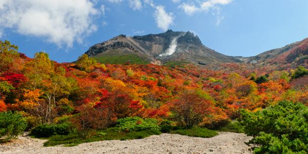 那須山の紅葉