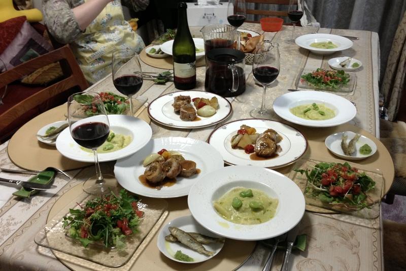 ■ イタリアンお料理教室 2013年5月