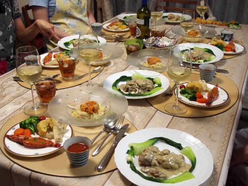 ■ イタリアンお料理教室 2013年7月