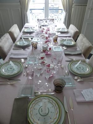 わたしのテーブル 日曜日の社交