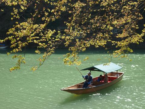 嵐山のお舟ランチ