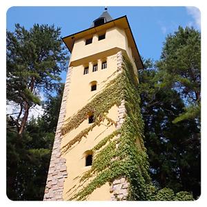 ロックハート城敷地内の塔