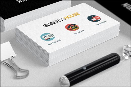 ビジネスカードに使えるアイコン集