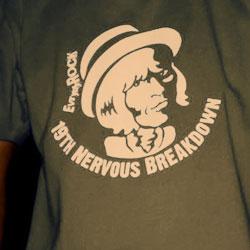 EverydayRock T Shirt Brian Jones Caricature