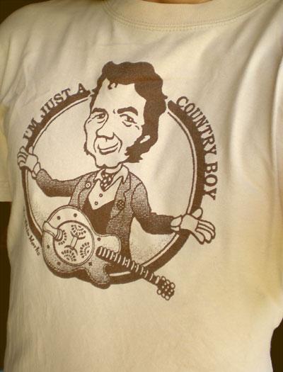 EverydayRock T Shirt Ronnie Lane Caricature