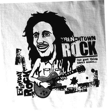 EverydayRock T Shirt Bob Marley Caricature