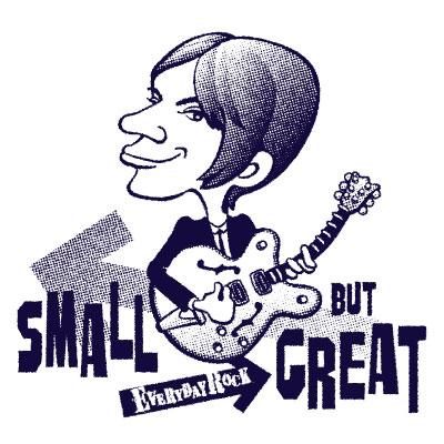 EverydayRock T Shirt Steve Marriott Small Faces Caricature