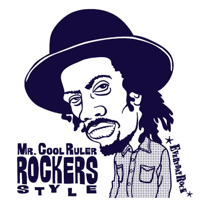 EverydayRock T Shirt Gregory Isaacs Caricature