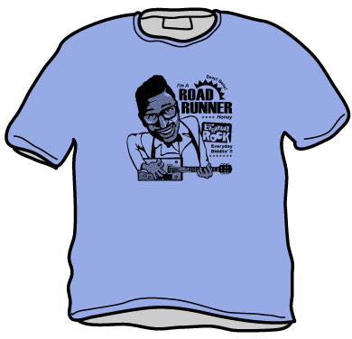 EverydayRock T Shirt Bo Diddley Caricature