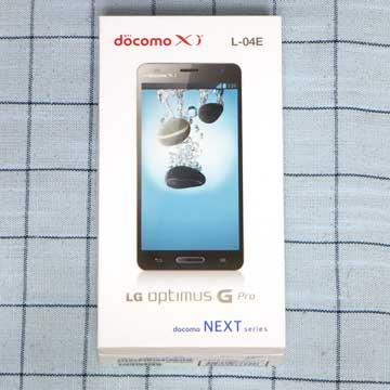 LG Electronics Optimus G Pro L-04E
