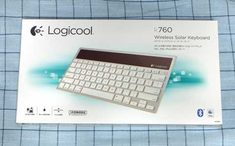 Logicool Wireless Solar Keyboard k760