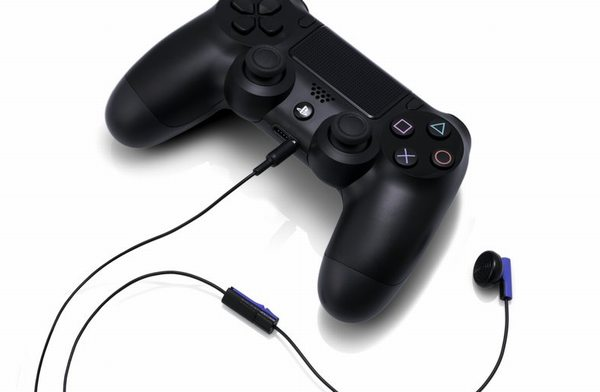 PS4コントローラのヘッドセット同梱物