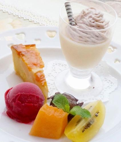お祝い膳デザート201410