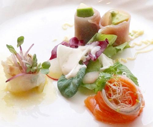 お祝い膳前菜アップ201410