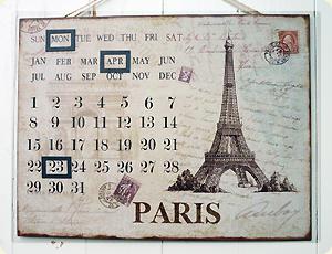 PARISカレンダー