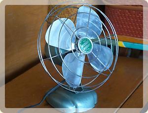 扇風機修理